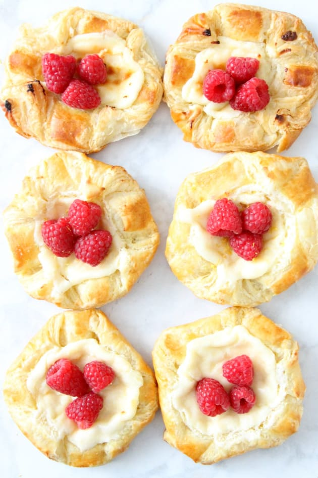 Lemon Raspberry Danish Image