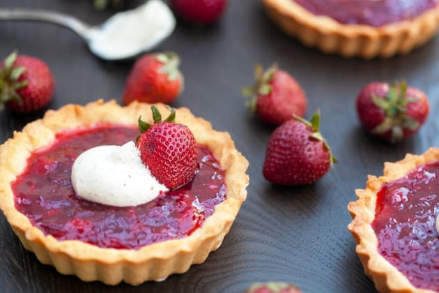 Strawberry Tartlets Image