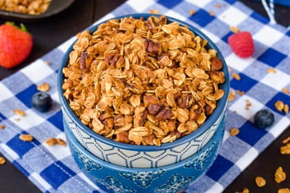 Honey Nut Granola Recipe