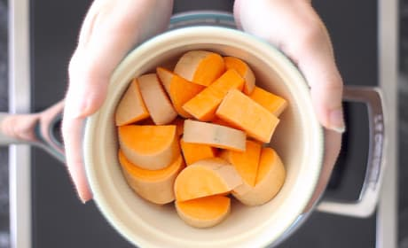 Parboiled Sweet Potatoes Image