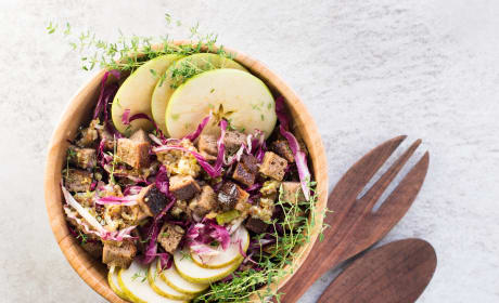 Fall Panzanella Salad Recipe