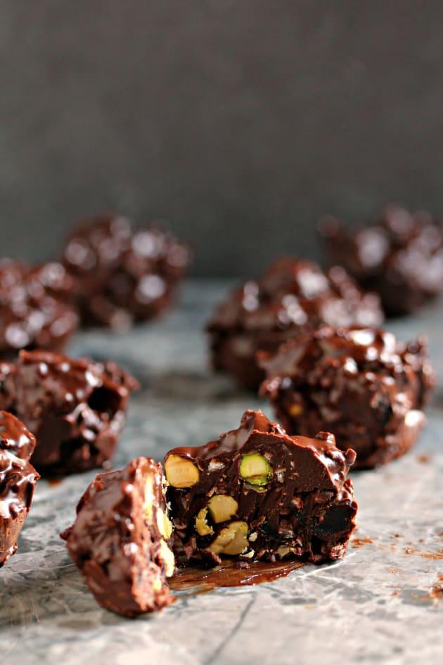 Chocolate Popcorn Clusters Recipes