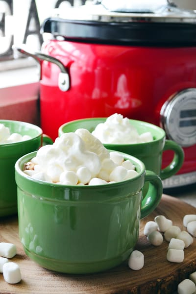 Slow Cooker Hot Chocolate Picture