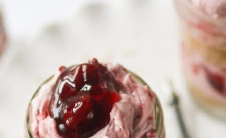 Cherry Cream Pie in a Jar Pic