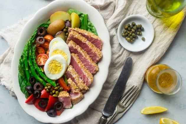 Asian Nicoise Salad Photo