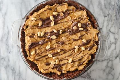 Spicy Chocolate Peanut Butter Pie