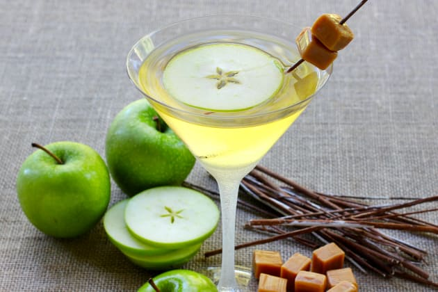 Caramel Apple Martini Photo