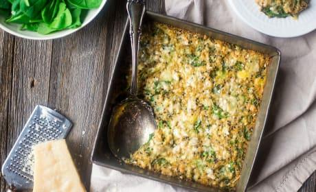 Spinach Artichoke Quinoa Casserole Recipe