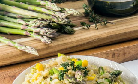 Quinoa Risotto with Asparagus Image
