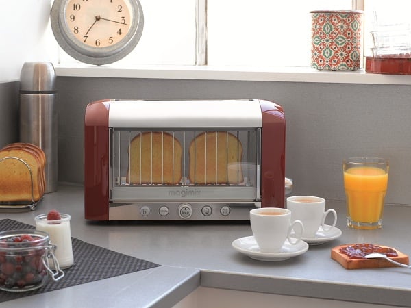 Magimix Vision Toaster in Action