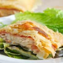 Puff Pastry Chicken Cordon Bleu Recipe