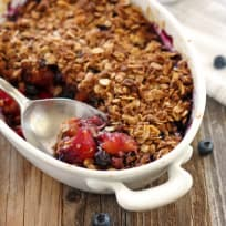 Blueberry Mango Crisp Recipe