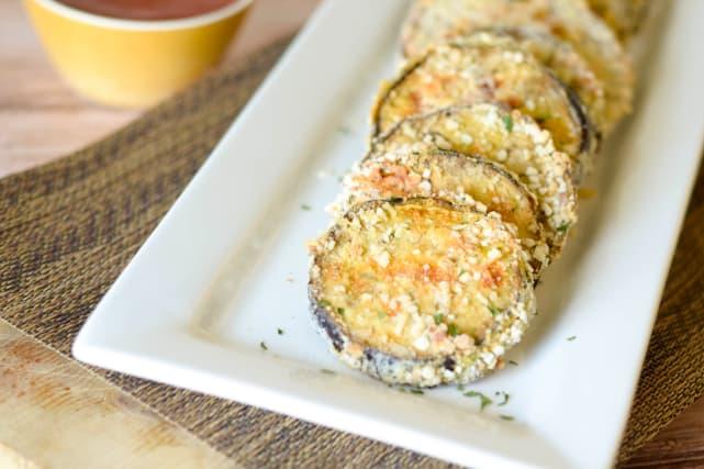 Gluten Free Baked Eggplant Bites Recipe