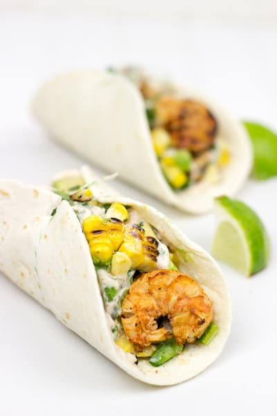 Southwest Shrimp Tacos Picture