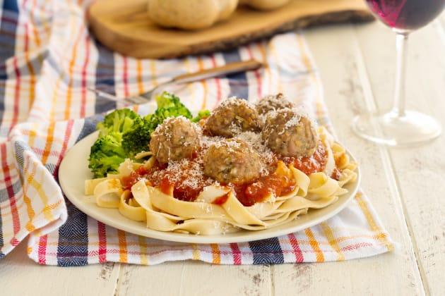 Gluten Free Baked Turkey Meatballs Photo