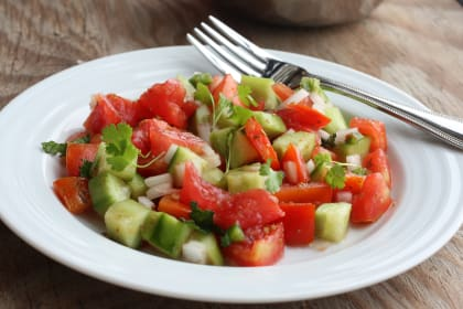 Summer Tomato Salad: Fresh, Crisp Perfection