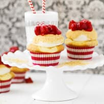 Cherry Cheesecake Cupcakes Recipe