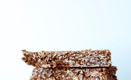 Homemade Chocolate Coconut Granola Bars Picture