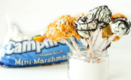 Halloween Popcorn Pops Recipe