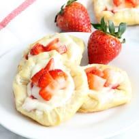 Strawberry Cream Cheese Danish Recipe