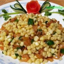 Stir Fry Corn with Dried Shrimps (Bắp Xào Tôm Khô)
