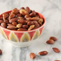 Olive Oil Roasted Almonds Recipe