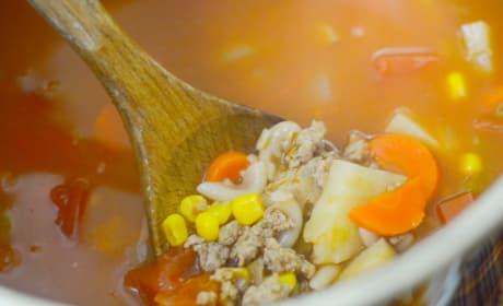 Gluten Free Instant Pot Vegetable Soup Image