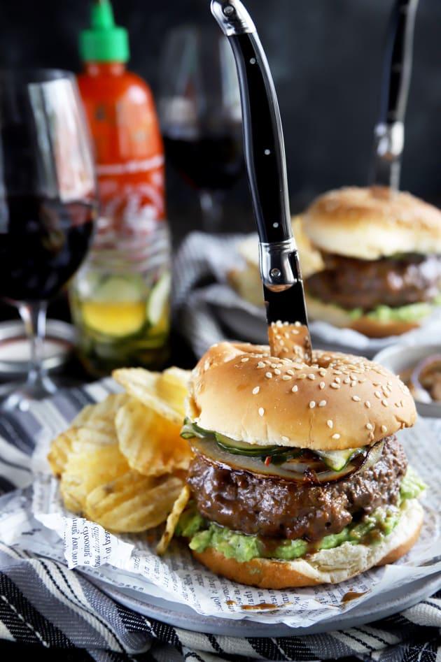 Miso Glazed Burger Image