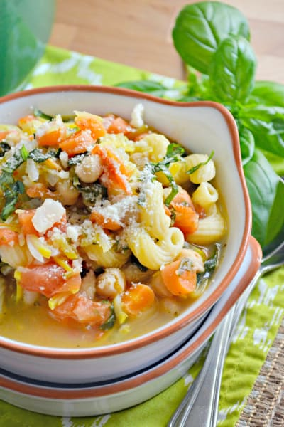 Chickpea Vegetable Soup Image