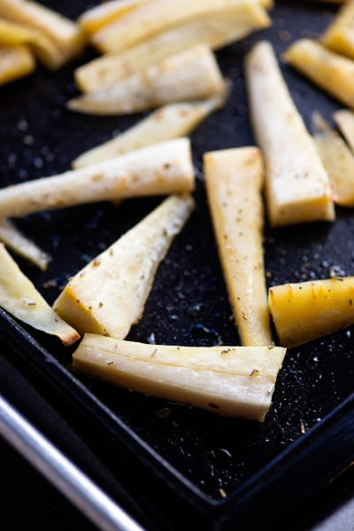 Parsnip Fries Picture