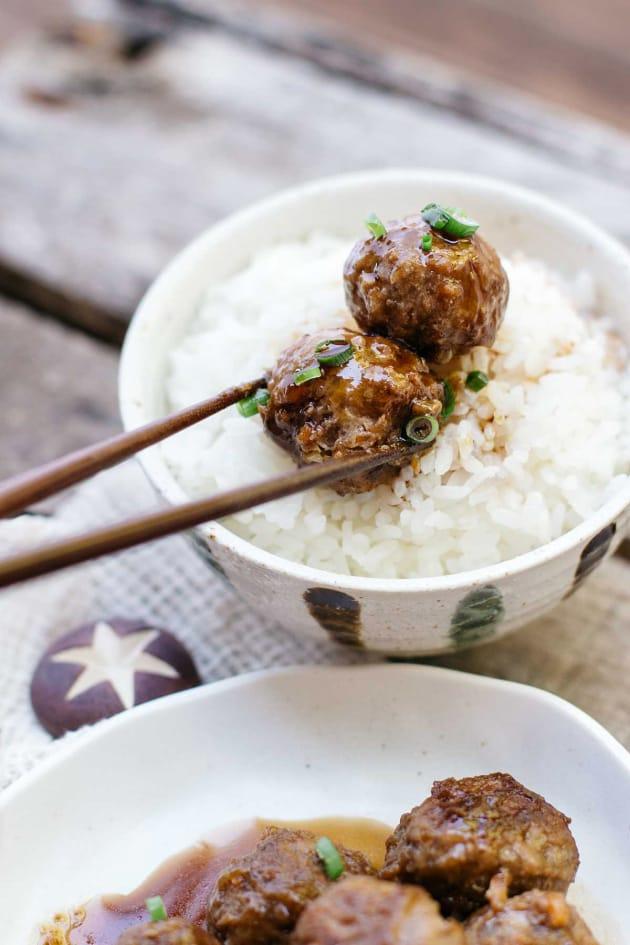 Teriyaki Meatballs Picture