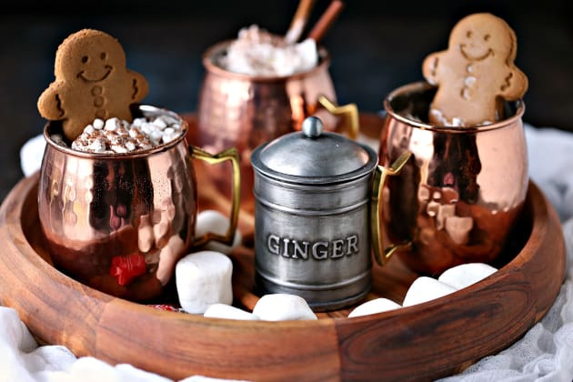 Gingerbread Hot Chocolate Photo