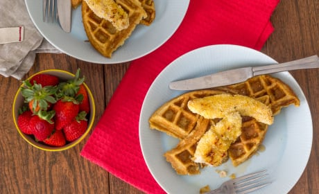 Chicken and Waffles Image