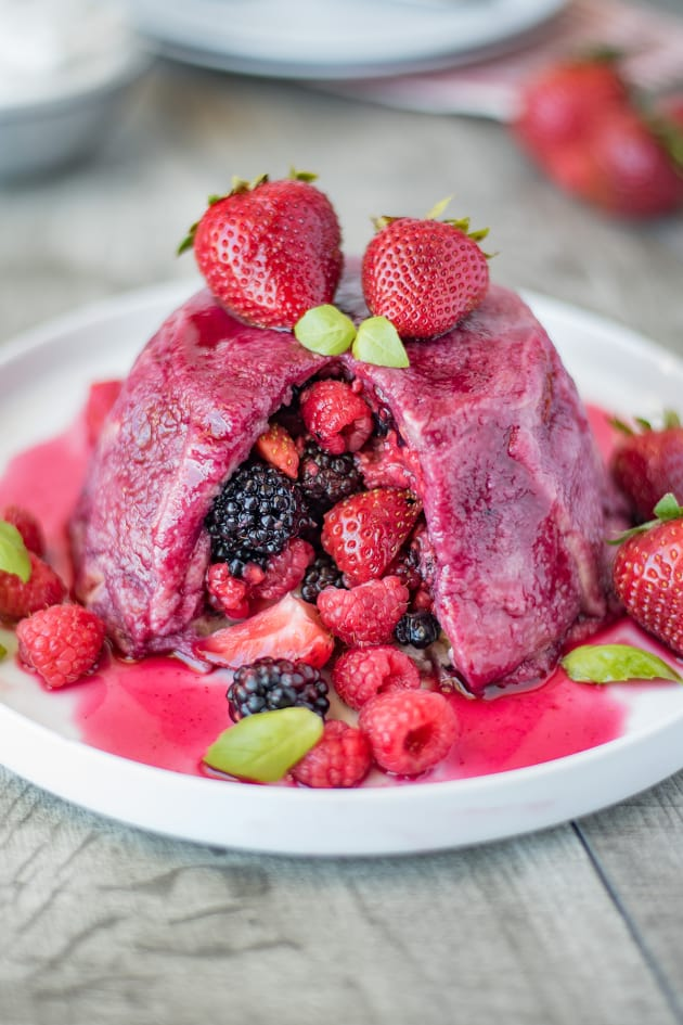 English Summer Pudding Picture