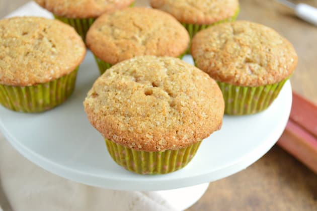 Ginger Rhubarb Muffins Image