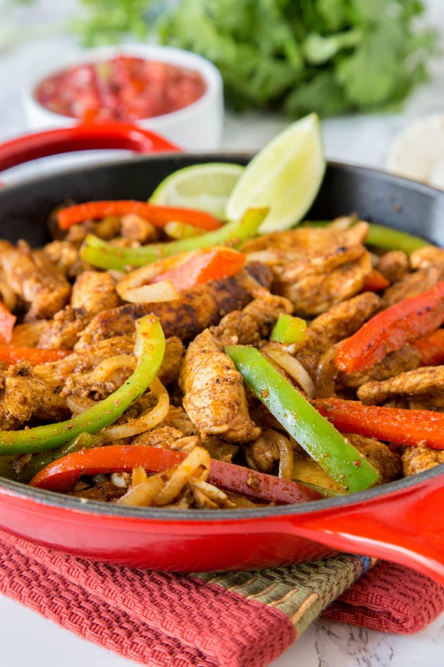 Easy Chicken Fajitas Picture