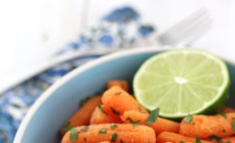 Roasted Carrots with Lime Pic