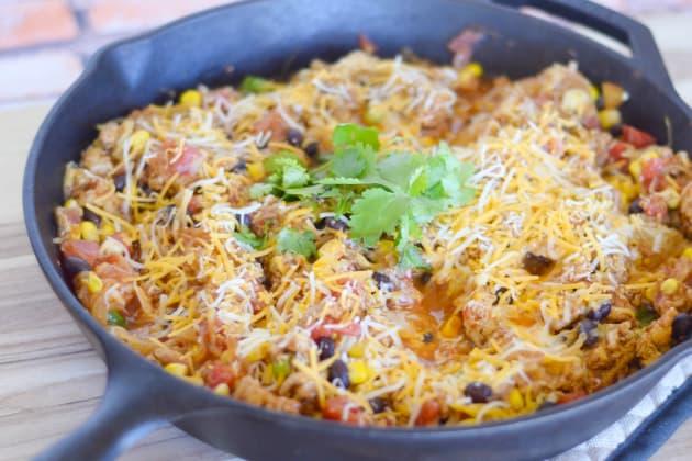 Spaghetti Squash Taco Skillet Picture