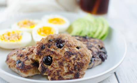Paleo Maple Blueberry Turkey Breakfast Sausage Photo