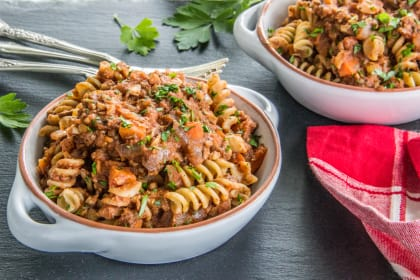 Meatless Chickpea Ragu