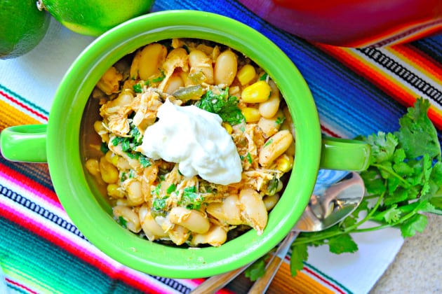 Quick White Bean Chicken Chili Photo