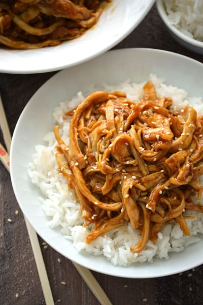 Crock Pot Teriyaki Chicken Picture