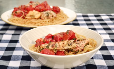 Bruschetta Chicken Pasta Recipe