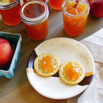 Hot Peach Jam Recipe