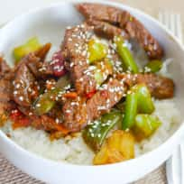 Beef Teriyaki Bowls Recipe