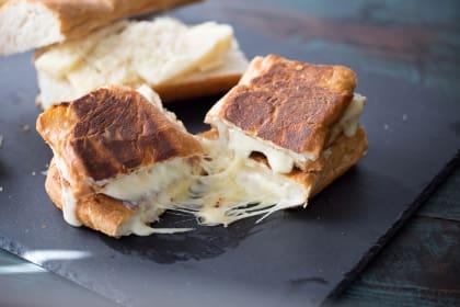 Fondue Cheese Panini Sandwiches