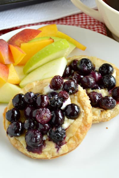 Roasted Berry Breakfast Tarts Picture