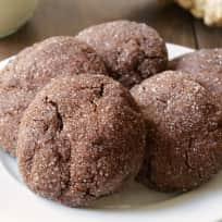 Gluten Free Chocolate Ginger Cookies Recipe