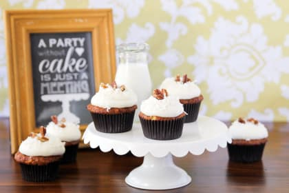 Carrot Cake Cupcakes & Mega KitchenIQ Giveaway!