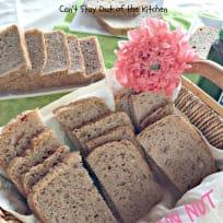 Ten Grain Nut Bread